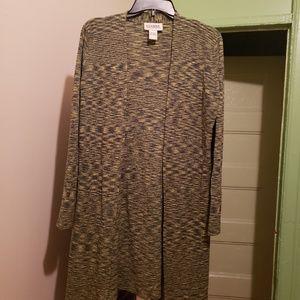 Women long cardigan sweater